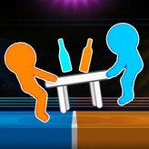 drunken table wars game