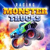 racing monster trucks game