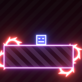 rise of neon square game