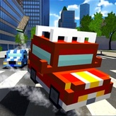 blocky cars in real world game