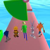 fun race 3d: baldi's basics game