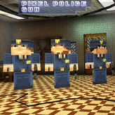 pixel police gun game