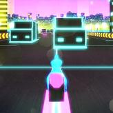 motorbike neon city game