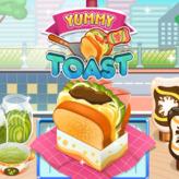 yummy toast game