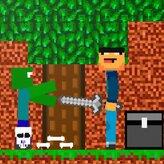 noob vs zombie game