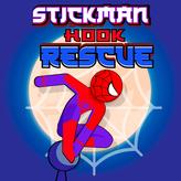 stickman hook rescue game