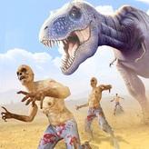 dinosaur vs zombie game