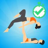 couples yoga game