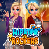 hipsters vs rockers game